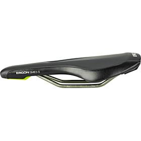 Ergon SME3 Pro Titanium Sillín, black